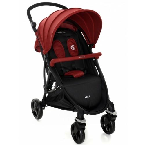 Coto Baby Sportový kočík LOCA 2020 - červený