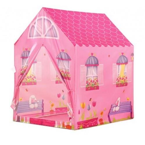 iPLAY Detský stan - Ružový domček