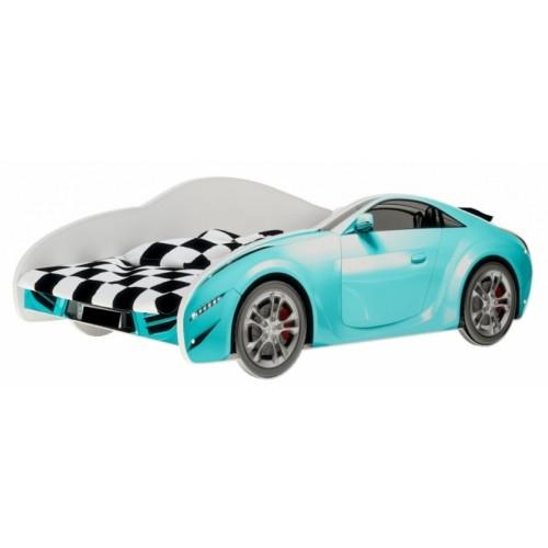 Nellys Detská posteľ Super Car - modrá