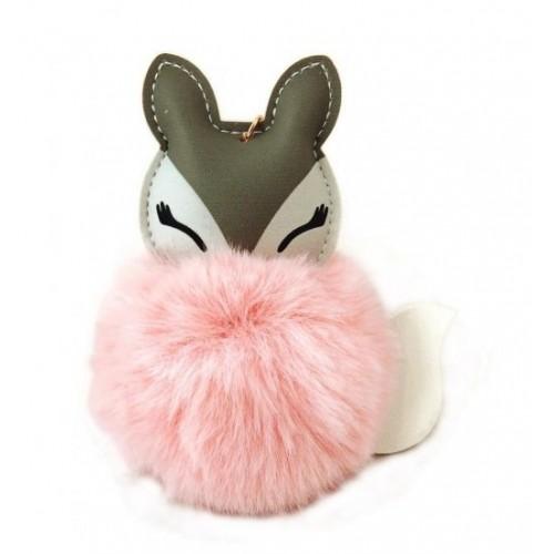 Adam toys, Kľúčenka s růžovým brmbolcom- liska