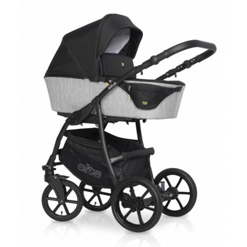Kombinovaný detský kočík 2 v 1 Expander Elite 2020, silver