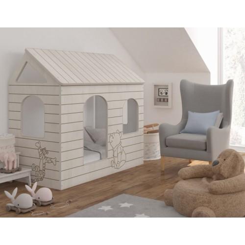 Babyboo Detská posteľ 160 x 80 cm - DOMČEK