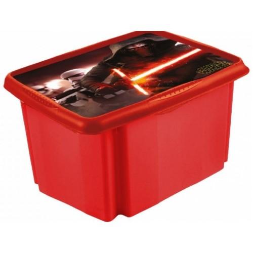 Keeeper Box na hračky Star Wars  45 l - červeny