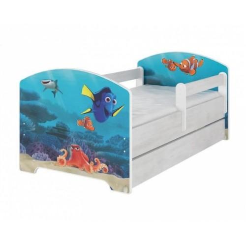 Babyboo Detská posteľ 140 x 70 cm - Dorry