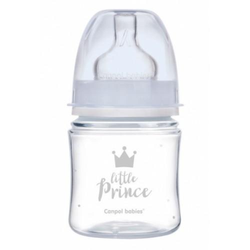 Antikoliková fľaštička 120ml Canpol Babies - Little Prince