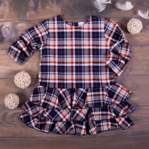 K-Baby Detské šatôčky Karko - granát, veľ. 92