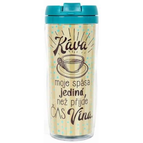 Albi Dárkový Termohrnek - Káva, 300 ml