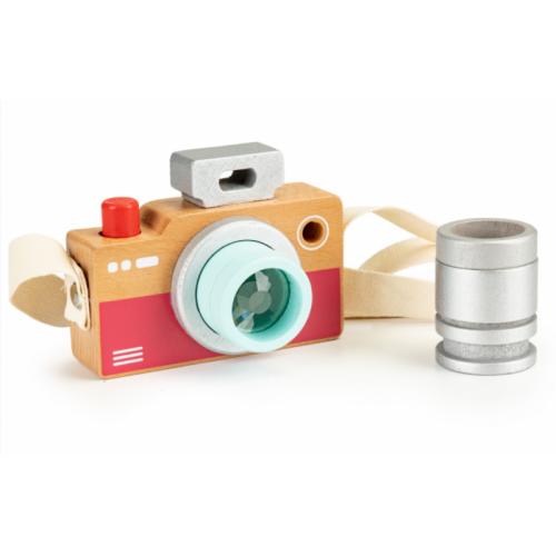 ECOTOYS Drevený fotoaparát - kaleidoskop