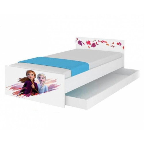 BabyBoo Detská junior posteľ Disney 180x90cm - Frozen, II