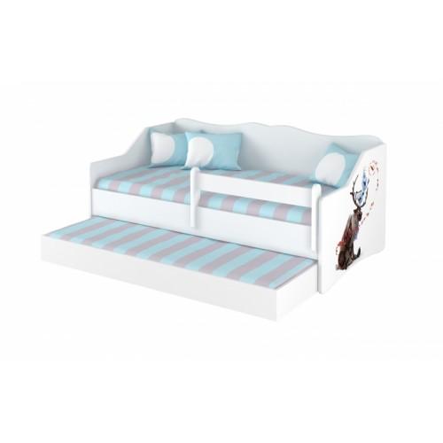Babyboo Detská posteľ LULU 160 x 80 - Frozen