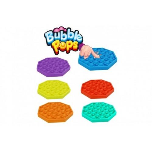 Bubble pops - Praskající bubliny silikon antistresová spol. hra, žltá