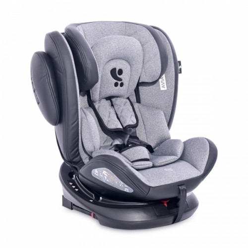 Autosedačka Lorelli AVIATOR ISOFIX 0-36KG BLACK / LIGHT GREY