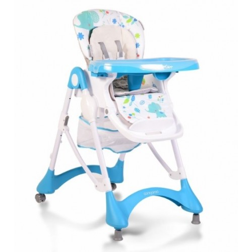 Cangaroo Jedálenská stolička Mint - modrá