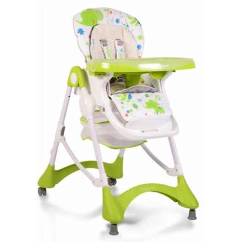 Cangaroo Detská jedálenská stolička Mint - zelená