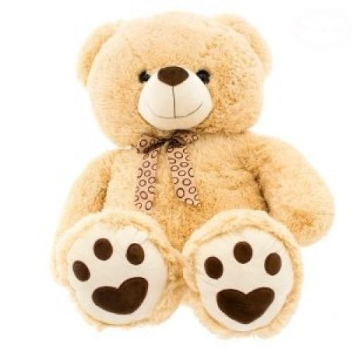 Euro Baby Plyšový medvedík 75 cm - béžový