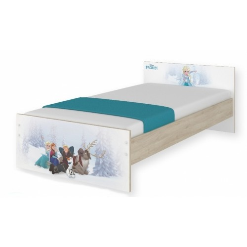 BabyBoo Detská junior posteľ Disney 180x90cm - Frozen, D19