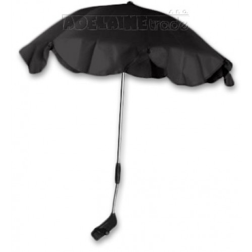 Baby Nellys Slnečník, dáždnik univerzálne do kočíka - čierny