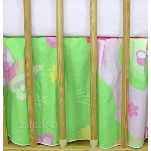 Darland Krásny volánik pod matrac - Motýlik ružový