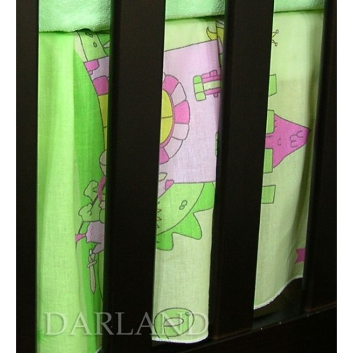 Darland Krásny volánik pod matrac - Zámok zelený