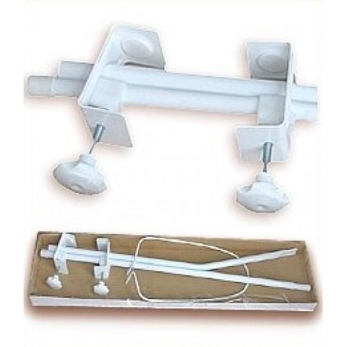 Mamo Tato Konštrukcia - držiak nebies / moskytiéry - biely