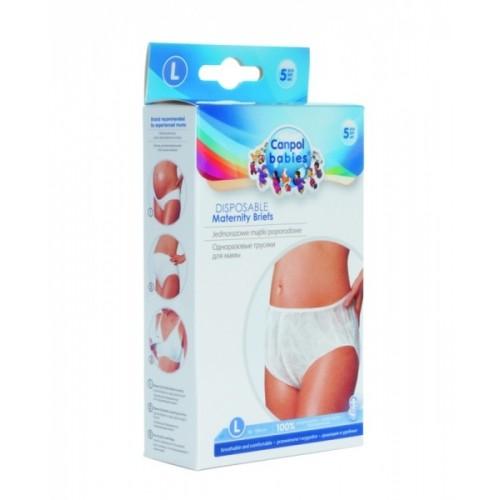 Popôrodné nohavičky M, 5ks v balení Canpol Babies