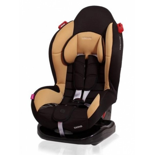 Autosedačka Coto Baby Swing 9-25kg, 2020 - černá, kávová