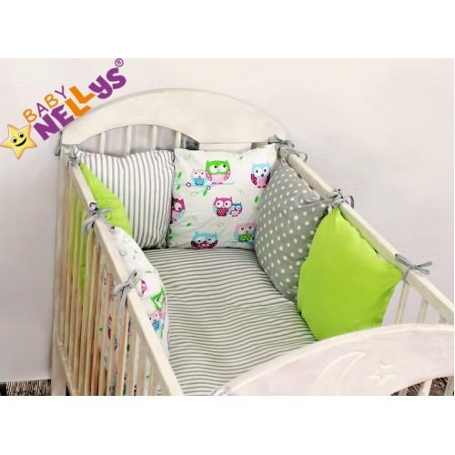 Baby Nellys Mantinel Be Love Lux vankúšikový s obliečkami vzor č. 10