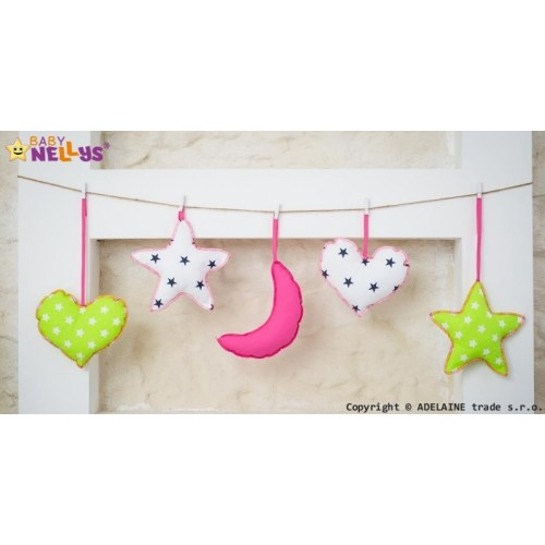 Baby Nellys Sada dekorácií Stars be Love č. 1