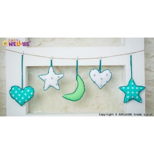 Baby Nellys Sada dekorácií Stars be Love č. 4