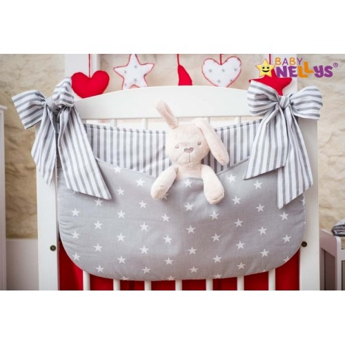 Baby Nellys Vreckár nielen na hračky Stars be Love - č. 10
