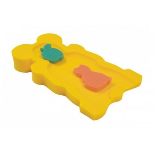 BADO Matračka - huba na kúpanie bábätiek MINI - Žltá,