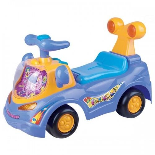 Euro Baby Odrážadlo, jezdítko - FUNNY CAR - fialové