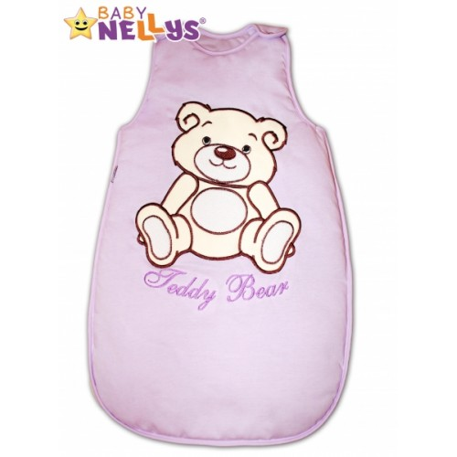 Spací vak Medvedík Teddy Baby Nellys - lila vel. 2