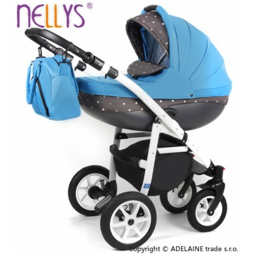 Kočík Lally 3v1 - Modrý