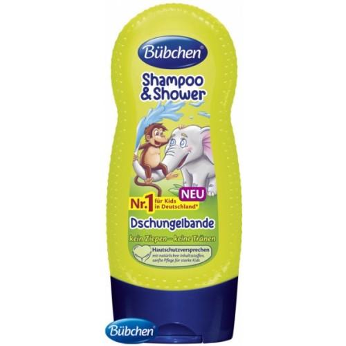 Bübchen detský šampón a sprchový gél Džungľa - 230ml