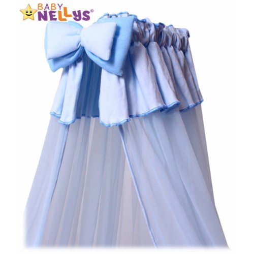 Baby Nellys Nebesá šifón - modré