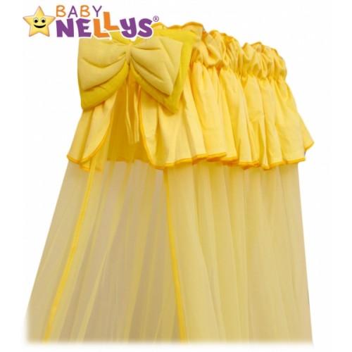 Baby Nellys Nebesá šifón - krémové