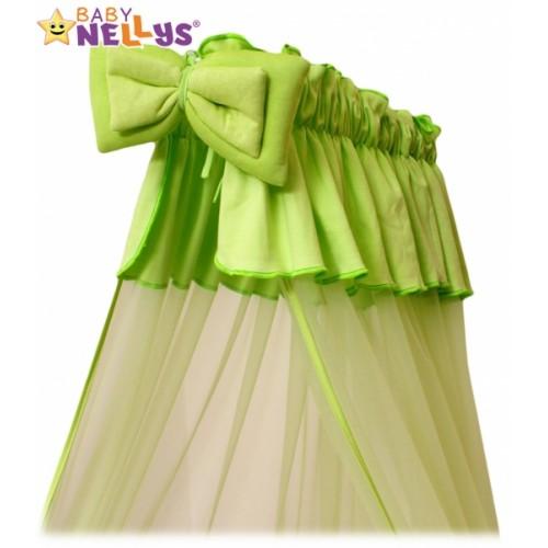 Baby Nellys Nebesá šifón - zelené