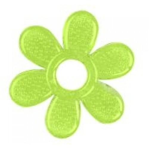 BabyOno Hryzátko gélové Baby Ono Kvetinka - zelené