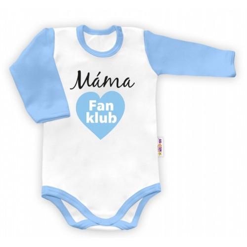 Baby Nellys Body dlhý rukáv vel. 86, Máma Fan klub