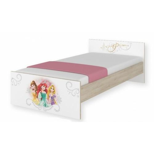 BabyBoo Detská junior posteľ Disney 180x90cm - Princess, D19