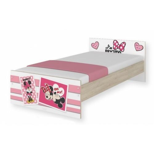BabyBoo Detská junior posteľ Disney 180x90cm - Minnie UPS, D19