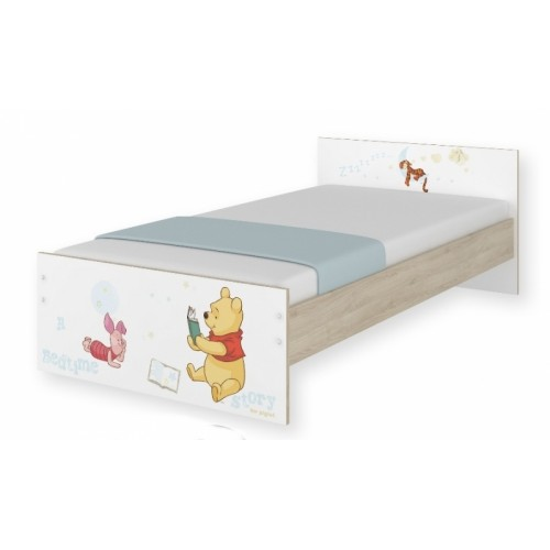 BabyBoo Detská junior posteľ Disney 180x90cm - Medvedík PÚ, D19