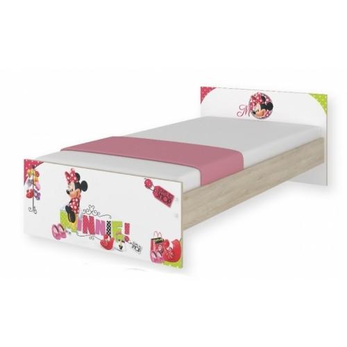 BabyBoo Detská junior posteľ Disney 180x90cm - Minnie, D19