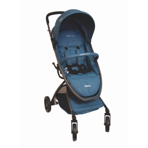 Coto Baby Kočík Verona Comfort Line -  Turquoise Linen