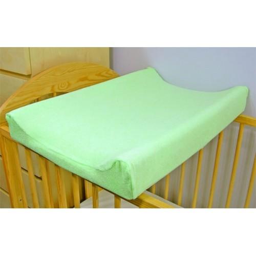 Baby Nellys Jersey poťah na prebaľovaciu podložku zelený