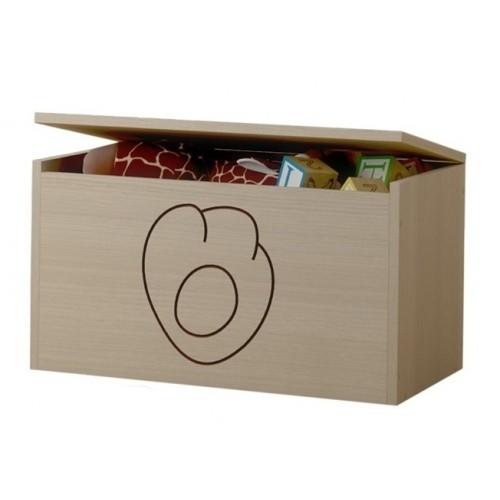 BabyBoo Box na hračky, truhlička Mačičikova tlapka