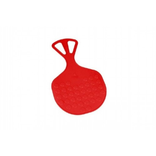 Teddies Kluzák Lopata Mrazík plast 58x35cm červený