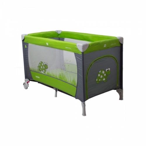 Coto Baby Cestovná postieľka Samba Plus - zelená