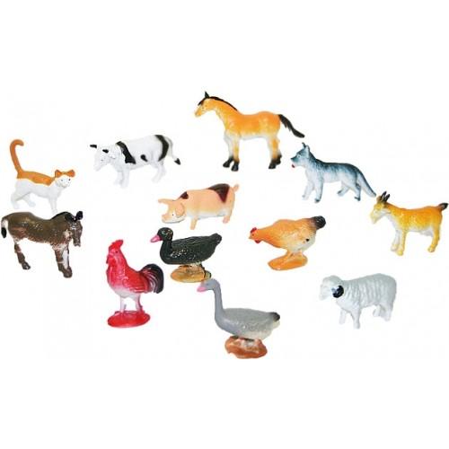Rappa Zvieratá domáce, 12 ks v sáčku